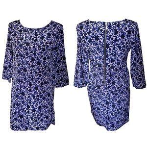 Old Navy | Back Zipper Floral Shift Dress Size XS